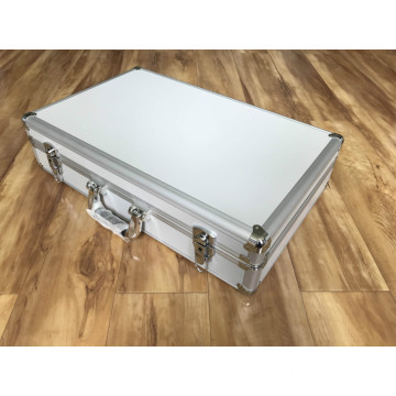 Aluminium Framed Cases with Cut-out Sponge Foam Insert